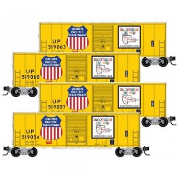 Micro-Trains 99300172 UP Union Pacific 4pk 40′ Boxcar