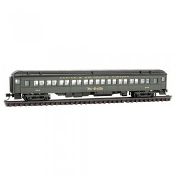 Micro-Trains 14500390 D&RGW Denver Rio Grande Rd# 980 78′ Heavyweight Coach