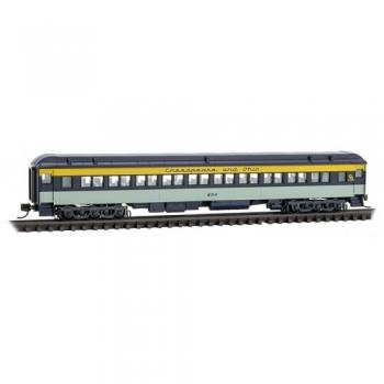 Micro-Trains 14500410 Chesapeake & Ohio RD # 604  78′ Heavyweight Coach