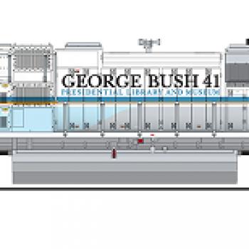 BLI #6305 SD70ACe, UP #4141, George Bush 41, 2018 Funeral Version, Paragon3 Sound/DC/DCC