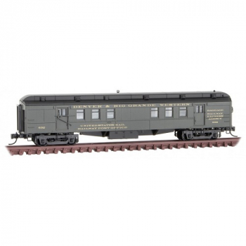 Micro-Trains 14000390 D&RGW Denver Rio Grande Rd# 632  RPO Heavyweight Passenger Car