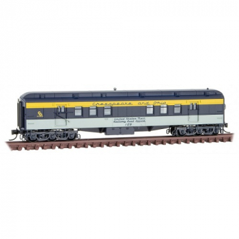 Micro-Trains 14000410 C&O Chesapeake & Ohio Rd# 109  RPO Heavyweight Passenger Car (Copy)