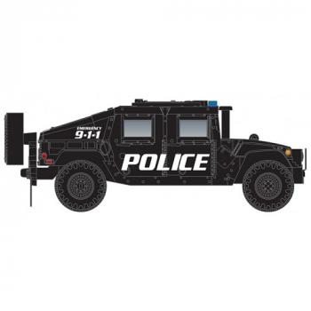 Micro-Trains 499 45 955  Police Humvee Vehicle 2-Pack